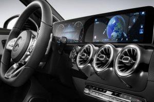 Mercedes A klasa ekran 2018